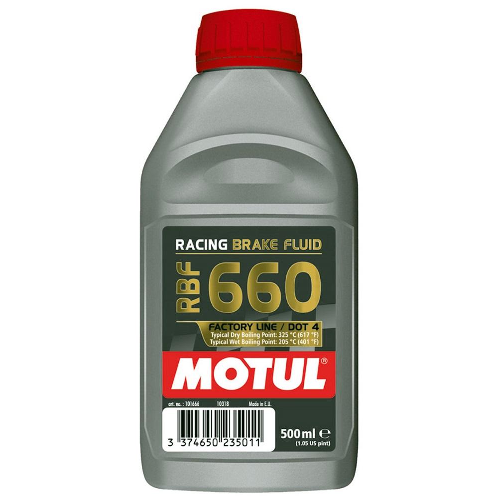 OLIO LIQUIDO FRENI RACING MOTUL RBF 660 DOT 4